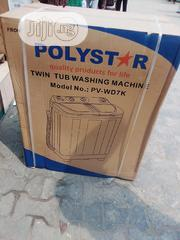 Polystar Washing Machine Top Load Twin Tube. | Home Appliances for sale in Lagos State, Ojo