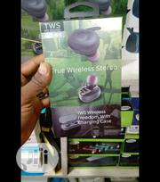 Tws Akz-w4 Earbud | Headphones for sale in Lagos State, Ikeja