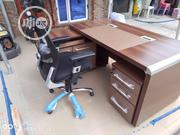 1.6m Office Table and Chair (Set) | Furniture for sale in Rivers State, Port-Harcourt