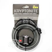 Kryptonite Resettable 12mm Cable Combo Bicycle Lock   Safety Equipment for sale in Lagos State, Ajah