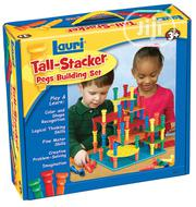 Lauri Talk Stacker Pegs Building Set | Toys for sale in Lagos State, Ikeja