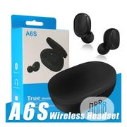 A6S Earbuds Wireless | Headphones for sale in Lagos State, Ikeja