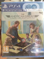 The American Dream PSVR PS4   Video Games for sale in Lagos State, Alimosho