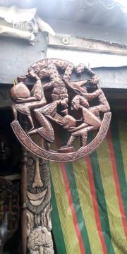 Wall Hanging Ebony Stick Carving For Sale | Arts & Crafts for sale in Oyo State, Ona-Ara