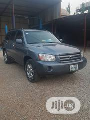 Toyota Highlander Limited V6 4x4 2004 Blue | Cars for sale in Abuja (FCT) State, Garki 2
