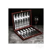 24 Piece Set Stainless Steel Tableware | Kitchen & Dining for sale in Lagos State, Ajah