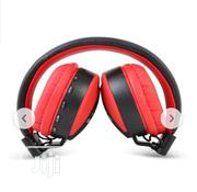 MS Stereo Headset Ms-771a Red | Headphones for sale in Lagos State, Ikeja