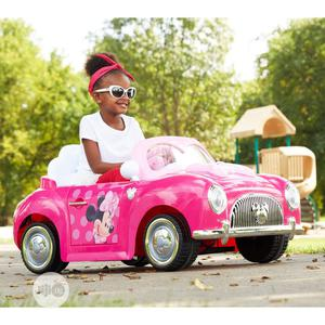 Huffy Disney Minnie Girls' 6-Volt Battery-Powered Electric Ride-On