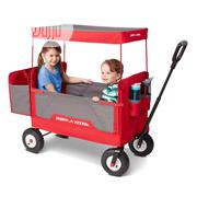 Radio Flyer 3-in-1 All-terrain Folding Wagon With Canopy | Toys for sale in Lagos State, Ajah