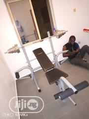 Standard Weight Bench With 50kg Dumbbell | Sports Equipment for sale in Lagos State, Lagos Island