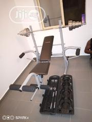 Weight Bench With Case 50kg Dumbbell | Sports Equipment for sale in Lagos State, Kosofe
