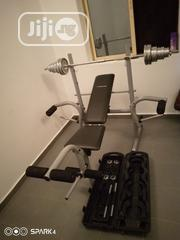 Weight Bench With 50kg Dumbbell | Sports Equipment for sale in Lagos State, Ilupeju