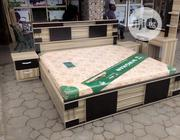 6×6 Bed Frame,Complete Set,With Imported Mattress | Furniture for sale in Lagos State, Ojo