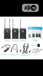 BOYA BY-WM8 Pro-k2 UHF Dual-channel Wireless Lavalier System | Audio & Music Equipment for sale in Lagos State, Ikeja