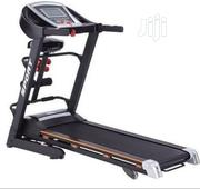 Body Fit Bodyfit Treadmill 2.5hp With Massage Sit-Up Dumbells | Sports Equipment for sale in Rivers State, Port-Harcourt