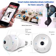 Panaromic Cctv Bulb Camera With WIFI | Security & Surveillance for sale in Lagos State, Ojo
