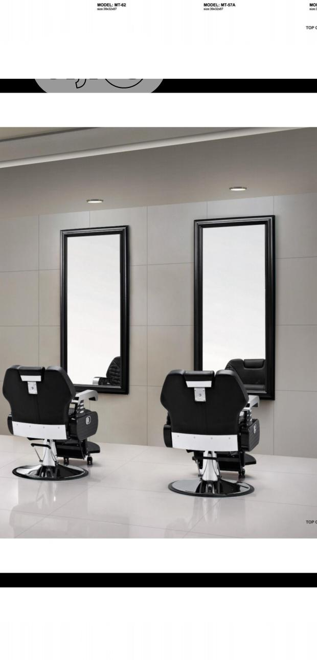 Barber Chair With Mirror