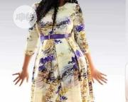 Beautiful Female Short Flare Gown With Belt | Clothing Accessories for sale in Lagos State, Ikeja