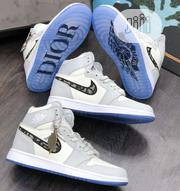 Nike Dior Hightop Sneakers | Shoes for sale in Lagos State, Surulere