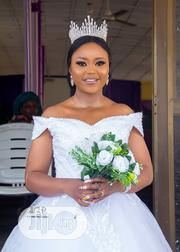 White Wedding Gown, Ball and Veil | Wedding Wear for sale in Oyo State, Ibadan