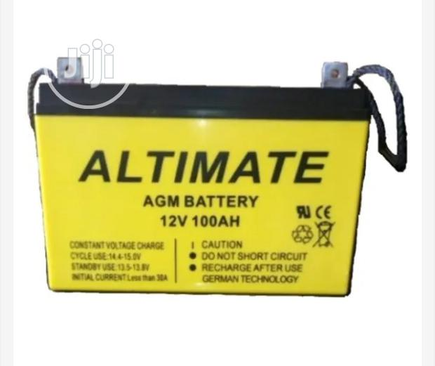 Archive: Altimate Solar Battery 100ah