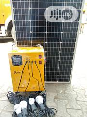 Original Solar Generator With Wire And Bulbs Trusted And Tested | Solar Energy for sale in Lagos State, Lagos Mainland