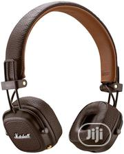 Marshall Major III Bluetooth Wireless On-ear Headphone, Brown | Headphones for sale in Lagos State, Ojo