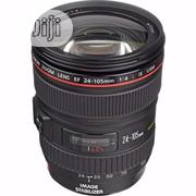 CANON Ef 24-105mm F/4L Is || Usm Lens | Accessories & Supplies for Electronics for sale in Lagos State, Lagos Island