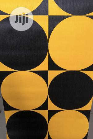 """""""Black~N~Yellow"""" (Wallpapers by Liv Interiors)"""