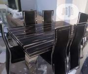Quality 6-Seater Marble Dining Table | Furniture for sale in Lagos State, Magodo