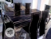 Marble Dining Table by 6 | Furniture for sale in Lagos State, Ifako-Ijaiye