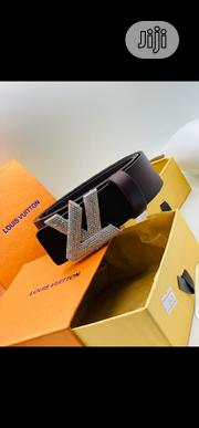 Louis Vuitton Leather Belt Original   Clothing Accessories for sale in Lagos State, Surulere