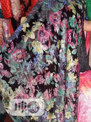 Multi Colored Black Background Velvet Bale Fabric   Clothing for sale in Lagos State, Amuwo-Odofin