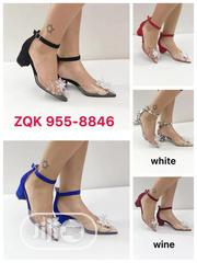 Transparent Small Wedge Heel | Shoes for sale in Lagos State, Surulere