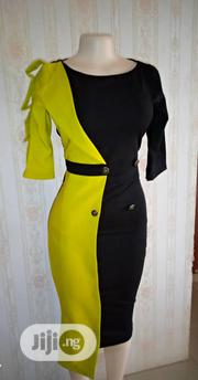Yellow and Black Colour Dress | Clothing for sale in Rivers State, Ogba/Egbema/Ndoni