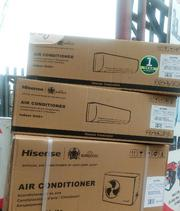 Hisense Airconditioner 1.5 Horse Power Black R410 | Home Appliances for sale in Lagos State, Ikeja