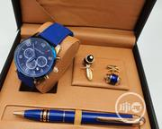 Best Quality Montblanc Designer Time Piece/Complimentary Pen Cufflinks | Watches for sale in Lagos State, Magodo