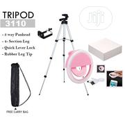 Adjustable Aluminium Alloy Tripod Stand Holder For Mobile Phones With | Accessories & Supplies for Electronics for sale in Lagos State, Ikeja