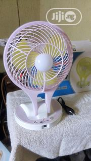Portable Led Light With Mini Fan | Home Appliances for sale in Lagos State, Ikorodu