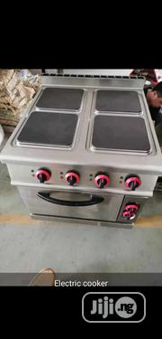 Four Burner Electric Cooker Machine With Oven   Restaurant & Catering Equipment for sale in Lagos State, Ojo