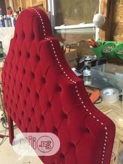 King Size Tufted Headboard Upholstered | Furniture for sale in Lagos State, Ipaja