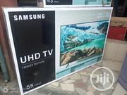 "NEW SAMSUNG 55""Inch UHD 4k SMART Super Flat Internet Tv( RU-7100) 