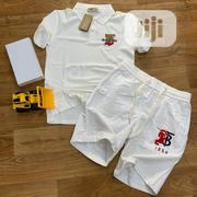 Burberry Poloshirt With Short for Unique Men | Clothing for sale in Lagos State, Lagos Island