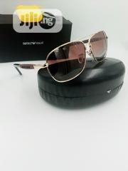 Emporio Armani Black and Gold Sunglasses | Clothing Accessories for sale in Lagos State, Lagos Island