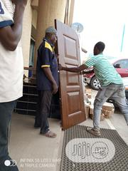 Security Stainless Door Wooden Door And Still There   Doors for sale in Oyo State, Oluyole