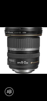 Canon EF-S 10-22mm F/3.5-4.5 USM Lens | Accessories & Supplies for Electronics for sale in Lagos State, Ikeja