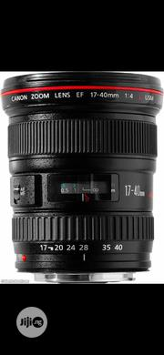 Canon EF 17-40mm F/4L USM | Accessories & Supplies for Electronics for sale in Lagos State, Ikeja