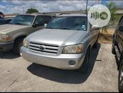 Toyota Highlander V6 2005 Silver | Cars for sale in Lagos State, Ajah