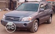 Toyota Highlander 2005 V6 4x4 Gray | Cars for sale in Lagos State, Ikorodu