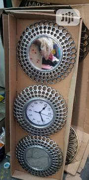 Wall Clock With Mirrow | Home Accessories for sale in Lagos State, Lagos Island